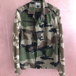 FURST OF A KIND LF Camo Jacket Cutout Back Skulls